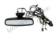 FORD MONDEO MK3 HATCHBACK AUTO REAR VIEW DIM DIMMING MIRROR & WIRING 2004 - 2007